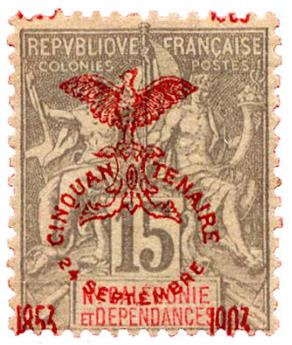 n°73* - Timbre NOUVELLE CALEDONIE Poste