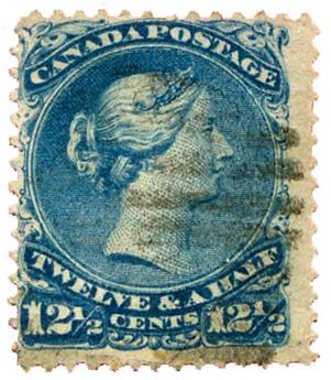 n°24 obl. - Timbre CANADA Poste