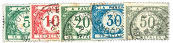 n°12/16 obl. - Timbre BELGIQUE  Taxe