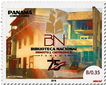 n° 1275 - Timbre PANAMA Poste