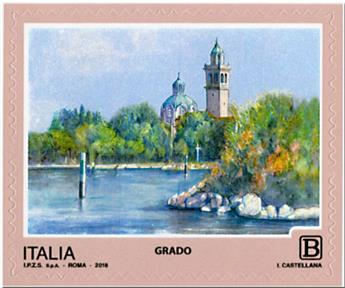 n° 3813/3816 - Timbre ITALIE Poste
