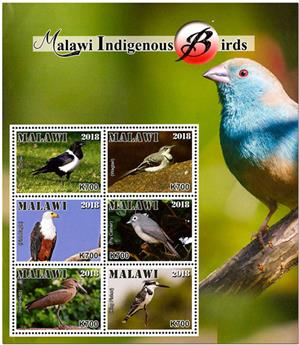 n° 892/897 - Timbre MALAWI Poste