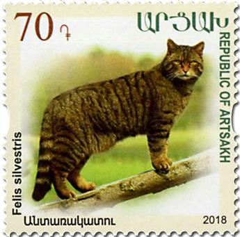 n° 134/136 - Timbre ARMENIE (Haut-Karabakh) Poste