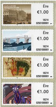n° 101/104 - Timbre IRLANDE Timbres de distributeurs