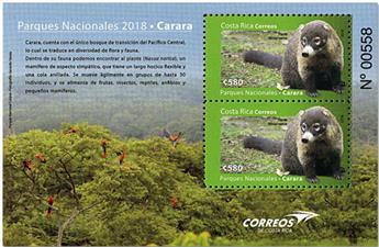 n° 67 - Timbre COSTA RICA Blocs et feuillets