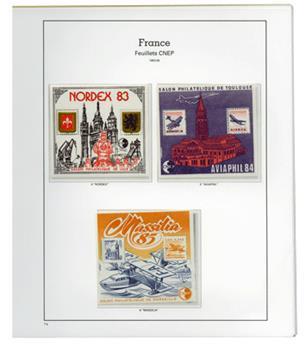 France : CNEP 1980 à 2015 complet neuf** du n°1/70