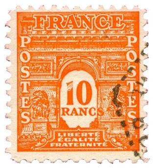 n°629 obl. - Timbre FRANCE Poste