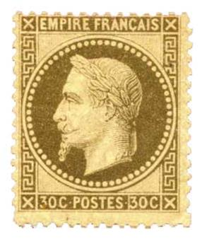 n°30* - Timbre France Poste