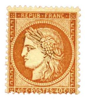 n°38* - Timbre France Poste