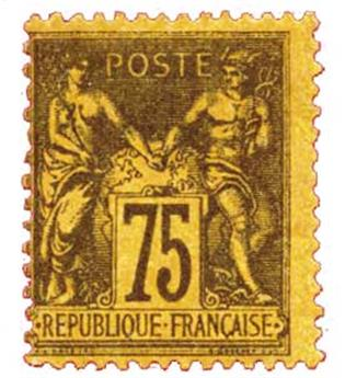 n°99* - Timbre France Poste
