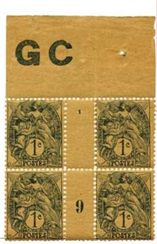 n°107** - Timbre France Poste