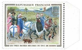 n°1457b** - Timbre France Poste