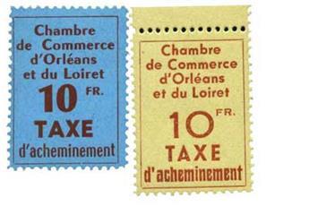 n°2/3** - Timbre France Grève