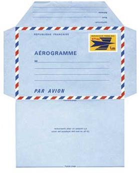 n°2** - Timbre Réunion Aérogramme