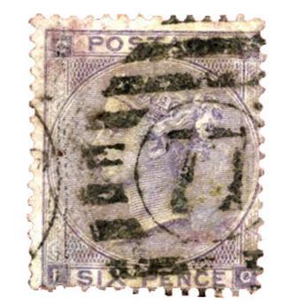 n°22 obl. B - Timbre GRANDE-BRETAGNE  Poste