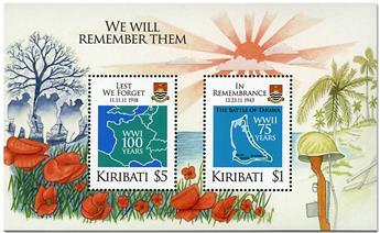 n° 67 - Timbre KIRIBATI Blocs et feuillets