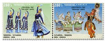 n° 916/917 - Timbre ARMENIE Poste