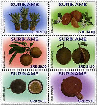 n° 2797/2802 - Timbre SURINAME Poste