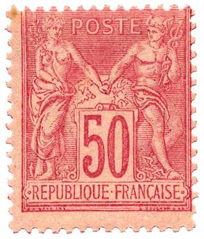 n°98* - Timbre FRANCE Poste
