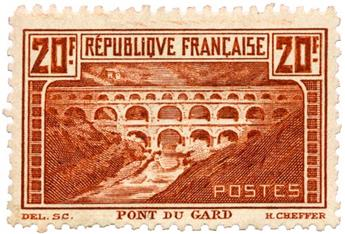 n°262B* - Timbre FRANCE Poste