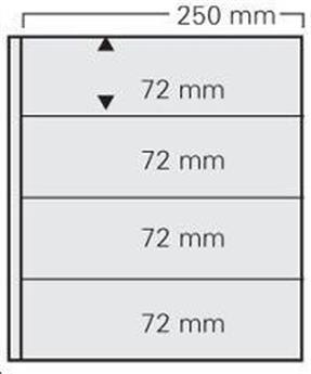 FEUILLE GARANT TRANSPARENT (x5) SAFE® (Ref 824)
