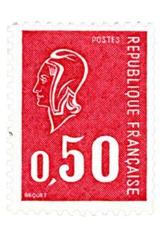n° 1664d -  Selo França Correios