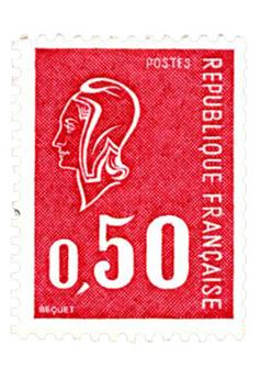 n.o 1664d -  Sello Francia Correos