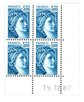 n° 2123b - Selo França Correios