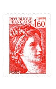 n° 2158a -  Selo França Correios