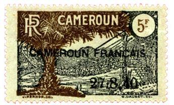 n°203* - Timbre CAMEROUN Poste