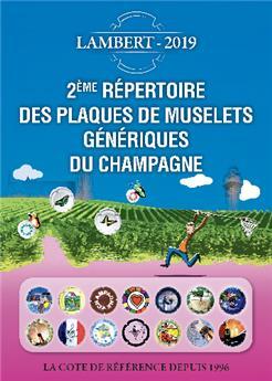 2ème REPERTOIRE DES PLAQUES DE MUSELETS GENERIQUES DE CHAMPAGNE (LAMBERT)