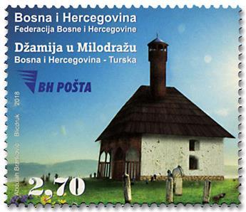 n° 791 - Timbre BOSNIE-HERZEGOVINE Poste