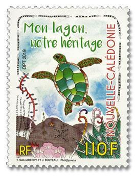 n° 1364 - Timbre Nelle-Calédonie Poste