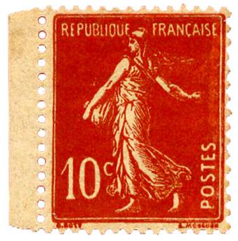 n°138** - Timbre FRANCE Poste