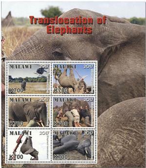 n° 904/909 - Timbre MALAWI Poste