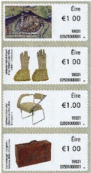 n° 117/120 - Timbre IRLANDE Timbres de distributeurs