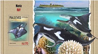n° 1121 - Timbre MALDIVES Blocs et feuillets