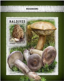 n° 1146 - Timbre MALDIVES Blocs et feuillets