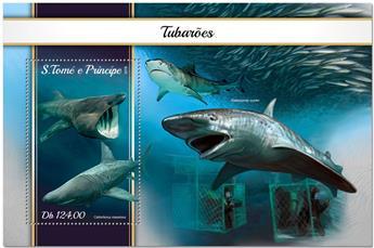 n° 1107 - Timbre SAINT-THOMAS ET PRINCE Blocs et feuillets