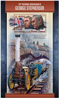n° 1382 - Timbre SIERRA LEONE Blocs et feuillets