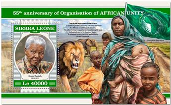 n° 1407 - Timbre SIERRA LEONE Blocs et feuillets