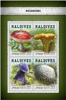 n° 6138/6141 - Timbre MALDIVES Poste