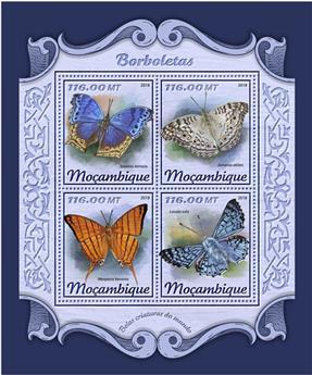 n° 7582/7585 - Timbre MOZAMBIQUE Poste