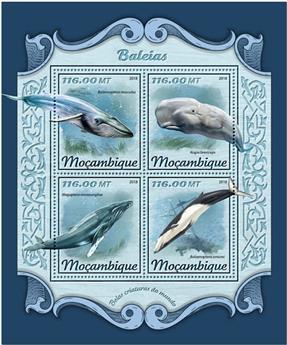n° 7642/7645 - Timbre MOZAMBIQUE Poste