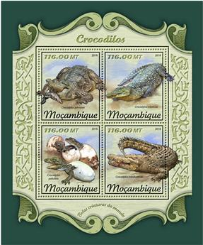 n° 7662/7665 - Timbre MOZAMBIQUE Poste