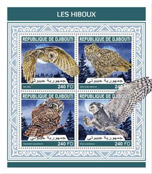 n° 1936/1939 - Timbre DJIBOUTI Poste