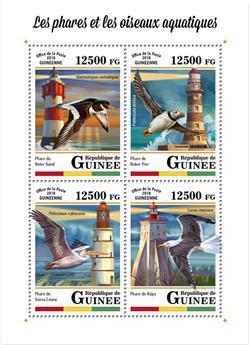 n° 9116/9119 - Timbre GUINÉE Poste