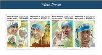 n° 9256/9259 - Timbre GUINÉE Poste