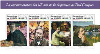 n° 9276/9279 - Timbre GUINÉE Poste