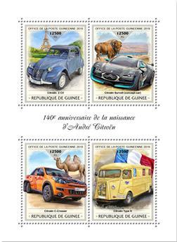 n° 9496/9499 - Timbre GUINÉE Poste